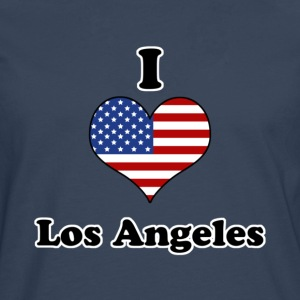 I love Los Angeles T-skjorter - Premium langermet T-skjorte for menn