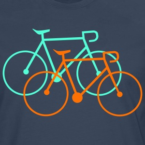 bike singlespeed fixie bicycle Shirts - Men's Premium Longsleeve Shirt
