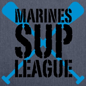 Marines SUP LEAGUE | Stand Up Paddling T-Shirts - Skulderveske av resirkulert materiale