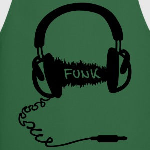 Kuulokkeet Audio Wave Design: Funk  T-paidat - Esiliina