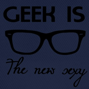 Geek is the new sexy T-shirts - Baseballcap