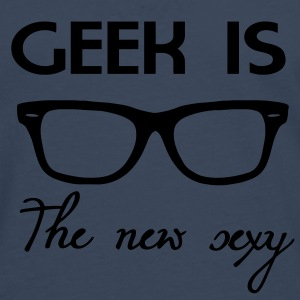 Geek is the new sexy Camisetas - Camiseta de manga larga premium hombre