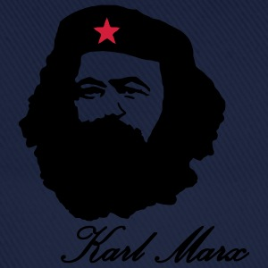 Karl Marx portrait with Beret  T-Shirts - Baseball Cap
