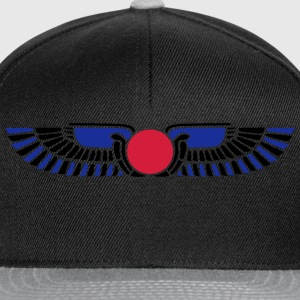Egypt Sun Disk, Wings, symbol of protection Magliette - Snapback Cap
