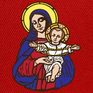 Mary and Jesus T-Shirts - Snapback Cap