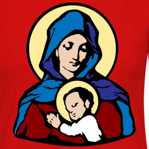 Mary and Jesus T-Shirts - T-shirt manches longues Premium Femme