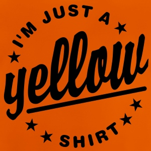 JUST A YELLOW SHIRT Kinder T-Shirts - Baby T-Shirt