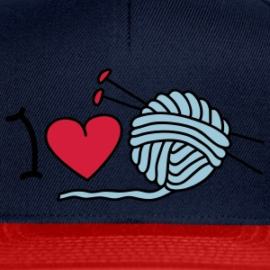 I love needlework T-Shirts - Snapback Cap