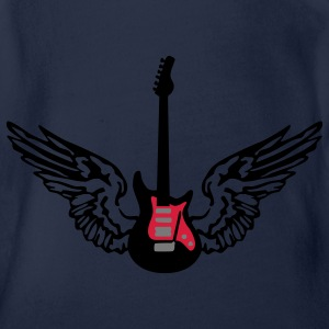 guitar_wings_a_092011_3c Tee shirts - Body bébé bio manches courtes