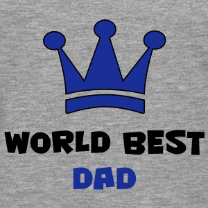 World Best Dad T-Shirts - Men's Premium Longsleeve Shirt