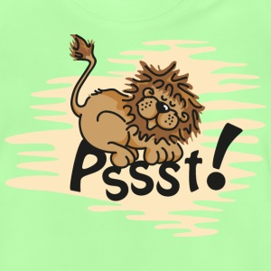 Little sleeping Lion Børne T-shirts - Baby T-shirt