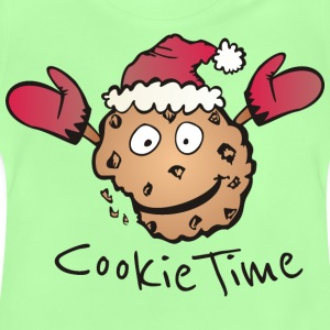 Kelly green Cookie Time Shirts - Baby T-Shirt