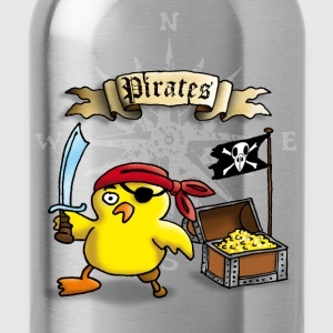 pirate_chick_h Camisetas - Cantimplora