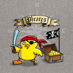 pirate_chick_h Camisetas - Gorra Snapback