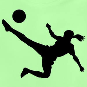 Soccer female - Baby T-shirt