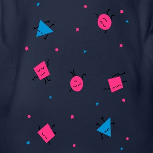 triangles - triangles Tee shirts Enfants - Body bébé bio manches courtes