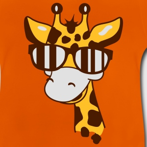 A giraffe with cool sunglasses Kids' Shirts - Baby T-Shirt
