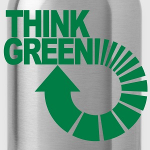 think green Kinder T-Shirts - Trinkflasche