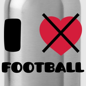 I Hate Football ! Camisetas - Cantimplora