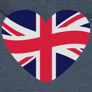 i_loveengland_3c T-Shirts - Men's Premium Hooded Jacket