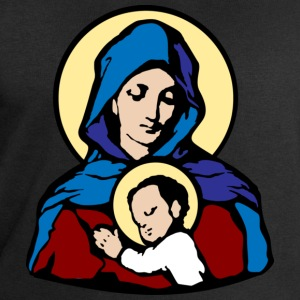 Mary and Jesus T-Shirts - Mannen sweatshirt van Stanley & Stella