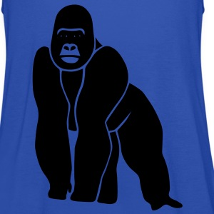 gorilla ape monkey king kong godzilla silver back orang utan Kids' Shirts - Women's Tank Top by Bella