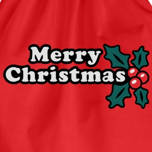 Merry Christmas T-Shirts - Drawstring Bag