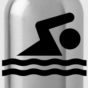 swimming - Trinkflasche