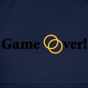 Game over! Married now. - Baseballkappe