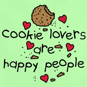 cookies lovers are happy people Kids' Shirts - Baby T-Shirt