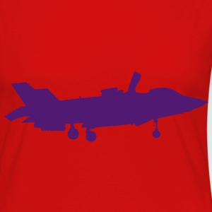 Joint Strike Fighter F-35 Landing T-Shirts - Women's Premium Longsleeve Shirt
