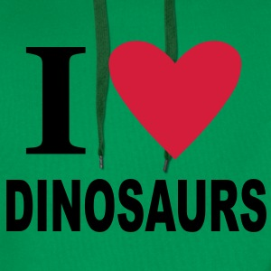 I love Dinosaurs Kids' Shirts - Men's Premium Hoodie