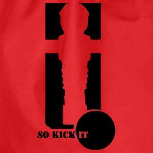 Kicker-Shirt So kick it - Turnbeutel