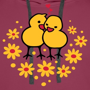 Chicks in Love - Men's Premium Hoodie