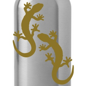 two geckos Shirts - Water Bottle