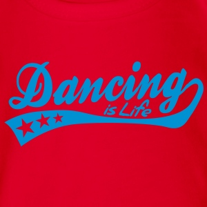 dancing is life - retro Barneskjorter - Økologisk kortermet baby-body