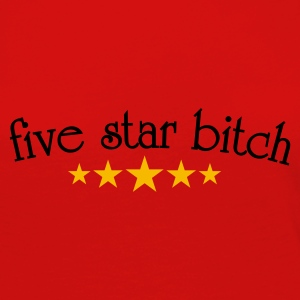 Five star  T-shirts - Långärmad premium-T-shirt dam
