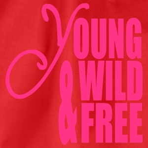 Young Wild and Free T-shirt - Sacca sportiva