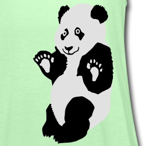 Panda Kinder T-Shirts - Frauen Tank Top von Bella