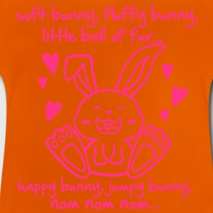 soft bunny, fluffy bunny, little ball of fur... Kids' Shirts - Baby T-Shirt