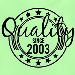 Birthday - Quality since 2003 (sv) Barn-T-shirts - Baby-T-shirt
