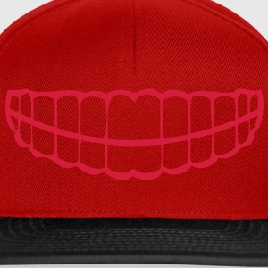 tooth dents teeth dentier1 Tee shirts - Casquette snapback