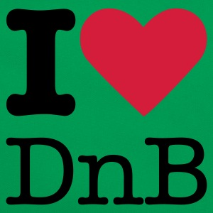 I Love DnB T-Shirts - Retro Tasche