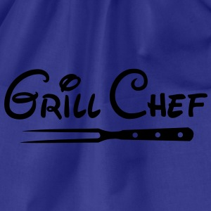 BBQ Grill Chef Barbecue Grill Sports Club - Drawstring Bag
