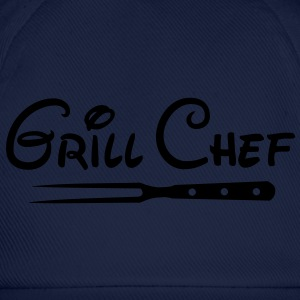 Barbecue Grill Chef Barbecue Grill Sports Club - Cappello con visiera