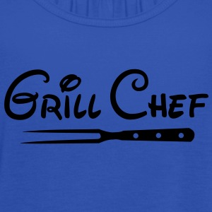 BBQ Grill Chef Barbecue Grill Sports Club - Women's Tank Top by Bella