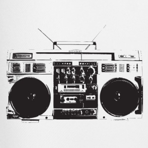 Ghetto blaster vintage for oldschool hiphop T-Shirt - Men's Football shorts