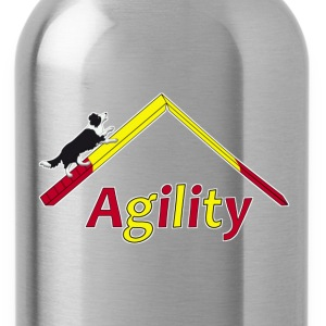 Agility Border Collie T-shirts - Drikkeflaske