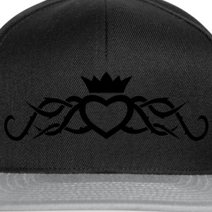Tribal Heart with Thorns T-Shirts - Snapback Cap