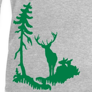Deer family in Forest  T-Shirts - Men's Sweatshirt by Stanley & Stella